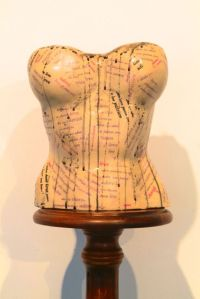 Love is a corset: love map Ceramic with decals. Price: £325.00